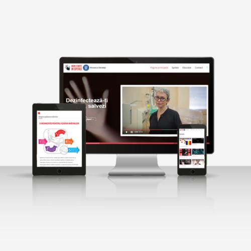 website de presentare